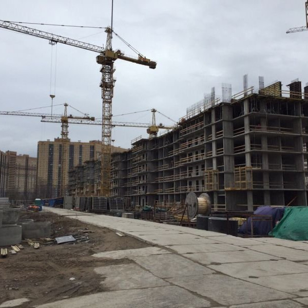 ЖК Прагма Сити, ход строительства, этапы работ